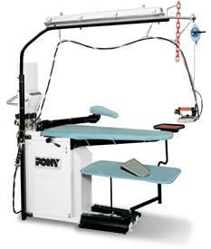Столы гладильные Pony S.р.A. SILVER-S maxi с парогенератором