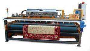 Оборудование для обработки ковров Donertas Полуавтоматическая машина для влажной чистки ковров